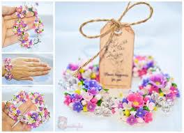 handmade flower bracelet images Girls jewelry flower bracelet polymer clay bracelet floral jpg