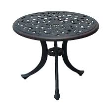 Oval Wrought Iron Patio Table Attractive Metal Patio Tables Oval Metal Garden Table 6 Seat