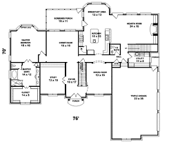 european style home plans european style house plan 5 beds 4 00 baths 4500 sq ft plan 81 614