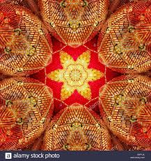 a macro kaleidoscopic image of sequined sparkly ornaments with a