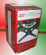 rotating christmas tree stand ebay