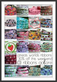 ribbons for sale living on the crafty side of ribbons galore sale this weekend