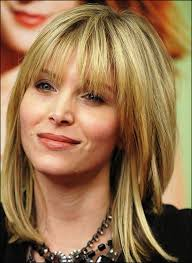 hairstyle for50 with a fringe hairstyles for 50 year old woman with bangs hair color ideas and