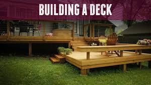 deck ideas how to build a deck diy