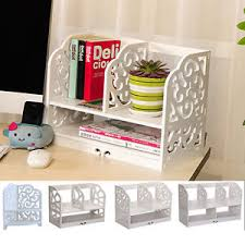 Modern Desk Tidy Modern White Wooden Desk Tidy No Paint Carved Hollow Office