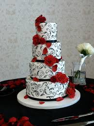 wedding cake decorating classes london elegant red black and white wedding cake event and photo by www