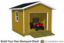 Overhead Doors For Sheds Garage Shed Plans Buy Diy Detached Garage Designs Today