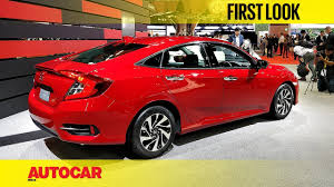 honda civic new honda civic first look autocar india youtube