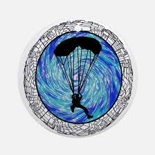 skydiving ornament cafepress