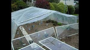 Construire Jardin D Hiver Serre De Jardin Pas Cher Astuces Récup Youtube