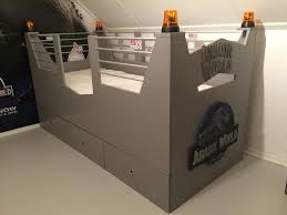 want to cage your kids try the jurassic park bunk bed a well