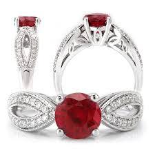 ruby wedding rings ruby engagement rings chatham ruby gemstone engagement rings