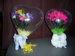 gifts in balloons s day flowers in a balloon with stuffed animals balloon