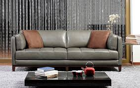 Gray Leather Sofa Sofa Trends Top 3 Colors