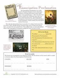 the emancipation proclamation the emancipation proclamation