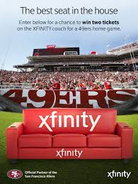 Home Xfinity by 49ers Com Xfinity Seats In The House