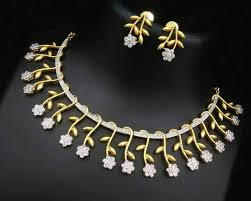 beautiful 1 gram gold necklace sets buy jewellery