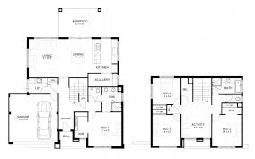 2 storey house plans gorgeous 2 story house floor plans and elevations o in design