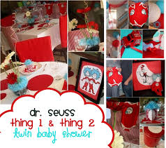baby shower ideas for twins pinterest dr seuss party ideas