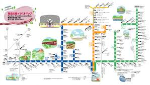 L Train Chicago Map by Hankyu Illustrated Map Kyoto Subway Going Underground
