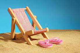 flip flop chairs chair standing on sea sand and pink flip flops with flowers