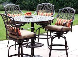 Balcony Height Patio Chairs Bar Height Patio Furniture Pewter 3 Outdoor Balcony Height