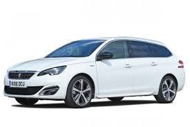 peugeot estate cars top tax and fuel efficient company cars of 2017