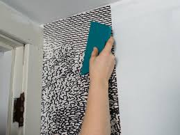 Prepasted Wallpaper How To Install Wallpaper In A Bathroom Hgtv