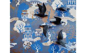 100 blue bird home decor birds in flight wall d礬cor jayson