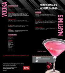 martini smirnoff tgi friday u0027s menu the great india place mall noida get prices