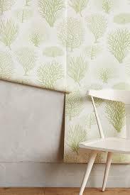 sea fern wallpaper anthropologie