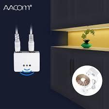 led kitchen cupboard cabinet lights 1m 2m 3m 4m 5m led cabinet lights with motion sensor sweep dimmable dc 12v diy led kitchen cupboard lighting