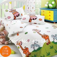 Giraffe Bedding Set Free Shipping Kid Giraffe Bedding Set 100 Cotton Stripe