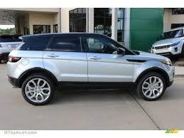 silver range rover evoque indus silver metalllic 2016 land rover range rover evoque se