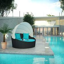 Patio Furniture Rattan Daybeds Awesome Unusual Patio Furniture Rattan Wicker Daybed