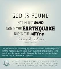 education quote fire god is found in a still small voice education