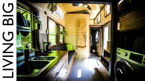 Tiny House Facts by Astounding Tiny House With Downstairs Master Bedroom Youtube