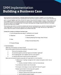 business case template business case template word 9 free word