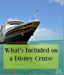 What S Included What U0027s Included In A Disney Cruise