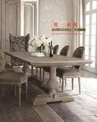 all solid wood tables and chairs into a circular dining table