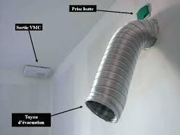 ventilation hotte cuisine gaine pour hotte de cuisine tuyau aspirante conduit spirala galva