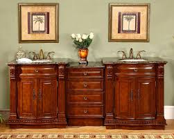 84 5 modular double sink bathroom vanity cabinet marble top 0206 c