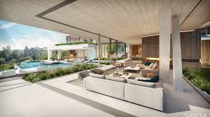 Design House La Home by Us Bellagio Overlooking Bel Air Country Club On A Promontory Site