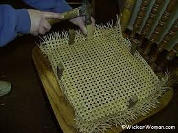 Chair Caning Instructions Free How To Install Cane Webbing Instructions
