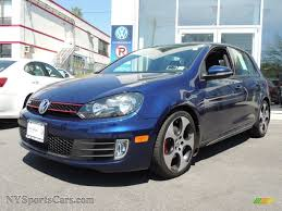 volkswagen gti blue 2011 volkswagen gti 4 door in shadow blue metallic 073248