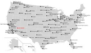 Philadelphia International Airport Map File Las Mccarran International Airport Domestic Destinations Svg