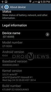 android 4 4 kitkat s3 i9300 gets official port of android 4 4 4 kitkat update