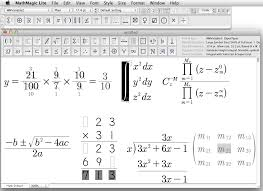 equations created with mathmagic lite are not allowed in any commercial material or public contents