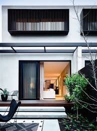 Home Yoga Studio Design Ideas Townhouse In Australia Hides Minimalist Yoga Studio Freshome Com