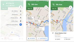 Googple Maps Google Maps Pit Stop Feature Arrives On Ios